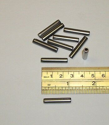 316 X 1 Apprx. Stainless Steel Coil Spring Pin Roll Pin  Ms39086-253 10 Pcs.