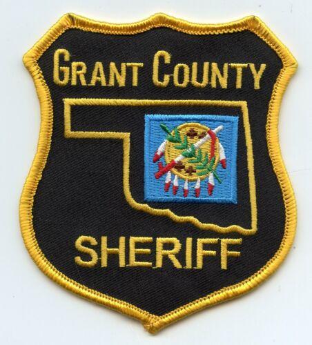 GRANT COUNTY OKLAHOMA OK SHERIFF POLICE PATCH