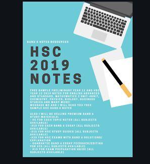 NEW SYLLABUS 2019 HSC NOTES | HSC, University & School Tutoring