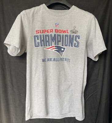 NFL New England Patriots Super Bowl XLIX Champions T-Shirt Men's Medium