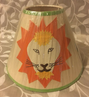 Children's Lion Light Shade- Brand New