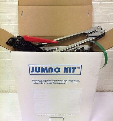Jumbo Polyest Strapping Kit 58 X .035 X1400 Lbs Brake Strength Sealstools