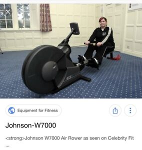 Johnson w7000 rowing machine