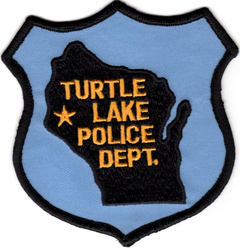 Turtle Lake Police Department  Department Wisconsin WI Patch
