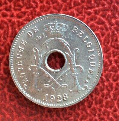 Belgique - Albert Ier - Magnifique  monnaie de 5  Centimes 1928 FR
