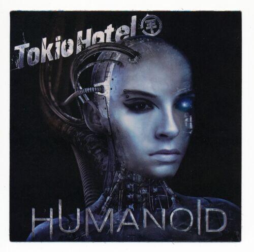 TOKIO HOTEL HUMANOID PROMO STICKER Decal Official band memorabilia Robot Face