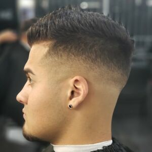 Hamilton Barber fades, hairstyling