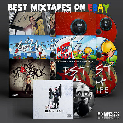 Machine Gun Kelly   Mixtape Bundle   Black Flag Est 4 Life Rage Pack 7 Cds