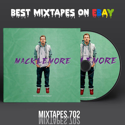 Macklemore   The Unplanned Mixtape  Full Artwork Cd Frontback Cover