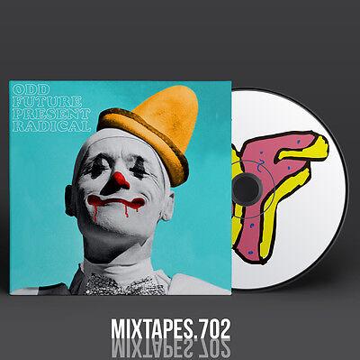 Odd Future   Radical Mixtape  Full Cd Front Back Artwork