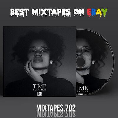 Ella Mai - Time EP Mixtape (Artwork CD/Front/Back Cover) Ty Dolla