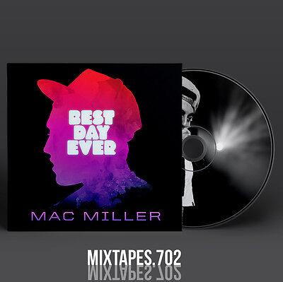 Mac Miller - Best Day Ever Mixtape (Full Artwork CD Art/Front Cover/Back