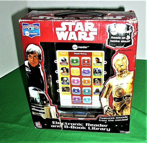 Disney Star Wars Story Reader Electronic Read & 8-Book Library – Pi Kids