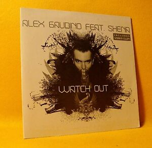 NEW-Cardsleeve-Single-CD-Alex-Gaudino-Ft-Shena-Watch-Out-3TR-Video-2008-House