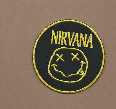 NEW 3 INCH NIRVANA IRON ON PATCH FREE SHIPPING