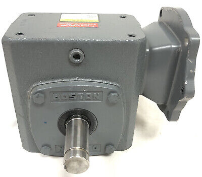 Boston Worm Gear Speed Reducer Motor Box F724-60ps-b5-g-t1 New Cast Iron