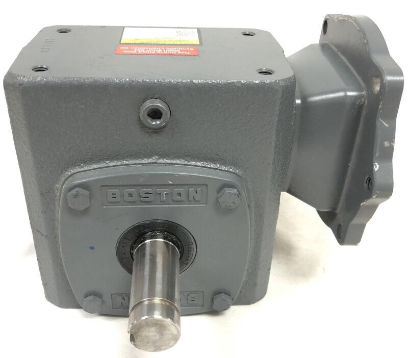 Boston Worm Gear Speed Reducer Motor Box F724-60PS-B5-G-T1 New Cast Iron