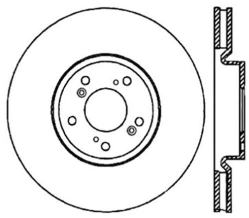 Disc Brake Rotor C Tek Standard Front Centric 121 40062 Fits 04 08