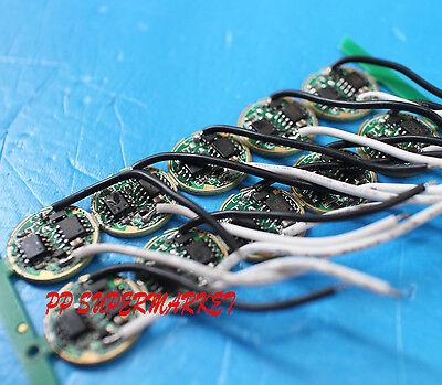 10pcs Dc 3.7v 16mm Led Driver For Cree P7xml-t5xml-t6 High Power Led Light
