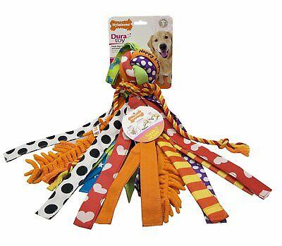 Duratoy NDP305P Dura Toy Happy Moppy Dog Toy / Size