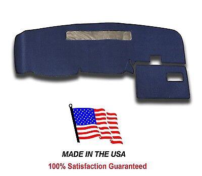 1994-1997 Chevy S-10 Pick Up Dark Blue Carpet Dash Cover Mat Pad CH2-2 USA MADE