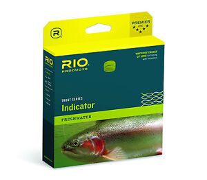 $25 Off Rio Indicator WF7F Freshwater Fly Line - New - $49.95 & Free US Shipping