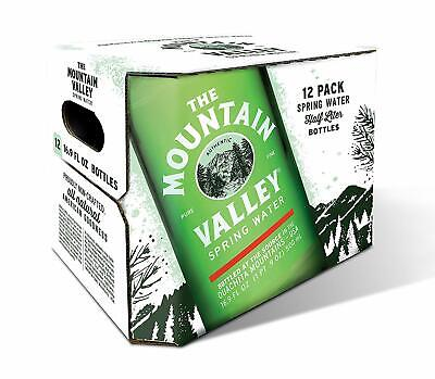 Mountain Valley Spring Water 500 ML Spring in Glass - Mountain Spring Water