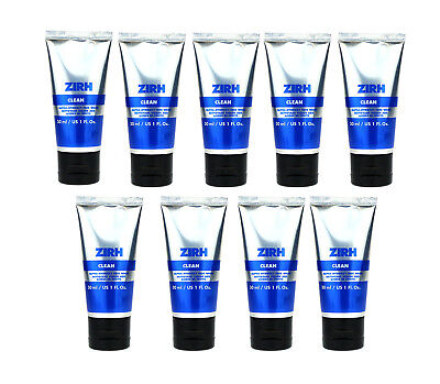 Zirh Clean Alpha‑hydroxy Face Wash 1.0Oz/30ml New Pack Of 9 (9.0Oz/270ml) for sale  Shipping to India