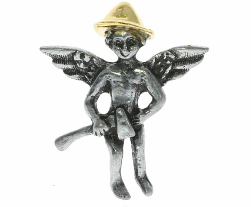 Firefighter Fire Department Guardian Angel Hat or Lapel Pin H001D131