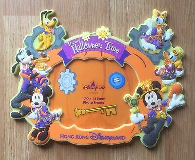 Disney Hong Kong Disneyland Halloween Time Glow In Dark Picture Photo Frame