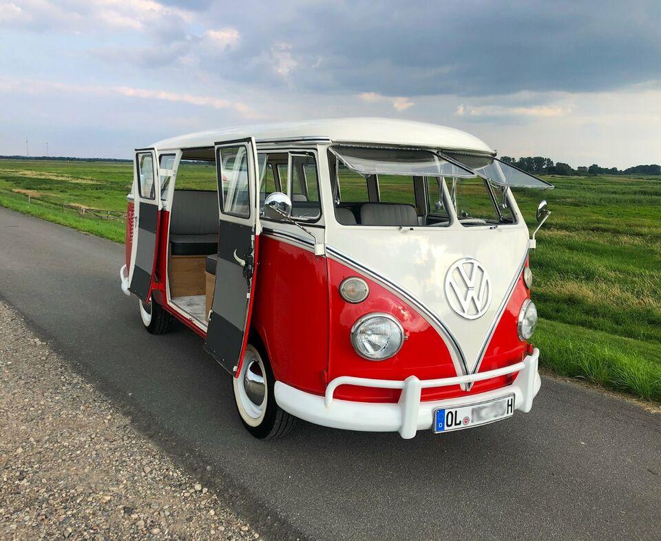 Hochzeitsauto mieten VW T1 Bulli, Oldenburg, Oltimer, Hochzeit in Niedersachsen - Oldenburg
