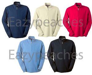 ASHWORTH-Golf-Mens-S-XL-2XL-3XL-4XL-1-2-Zip-Golfman-Jacket-Shirt-Pima-Dry-Jumper