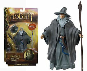 Lord of The Rings Hobbit GANDALF THE GRAY Action Figure New & Sealed