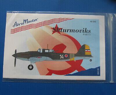 Aeromaster 48-349 Shturmoviks Pt.III Decal Sheet