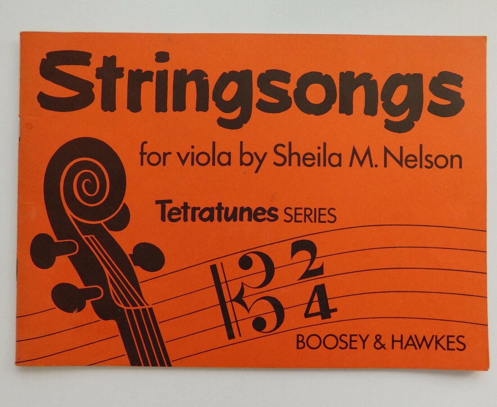 Viola music song book Stringsongs Tetratunes Tallis Strauss Handel rounds canons