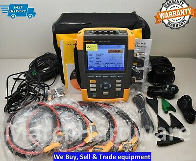 Fluke 434 Series Ii 2 Three Phase Power Quality Analyzer Meter With Harmonics