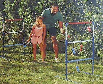 NEW Double Ladder Ball Game Portable Outdoor Yard Toss Set NEW