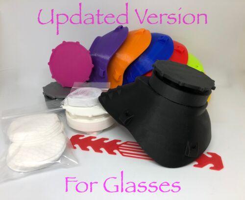 updated montana face mask 3d printed respirator