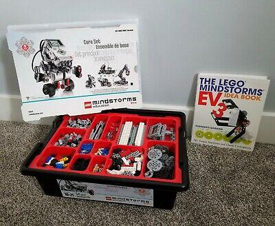 LEGO Mindstorms Education EV3 Core Building Set w/Intelligent Brick + BONUS Book