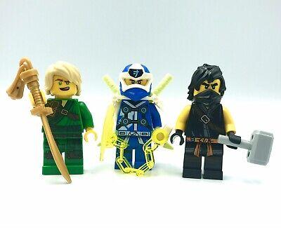 LEGO NINJAGO 3 Mini Figures Lloyd Digi Jay Cole 71708 70677