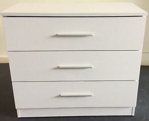 3 drawer cabinet / large chest drawer - white ( + delivery ) Melbourne CBD Melbourne City Preview