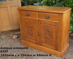 Vintage 1900's Sideboard ,other buffets and interesting items Martin Gosnells Area Preview