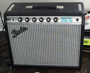 '68 Custom Princeton Reverb mint w/ box and all Packaging