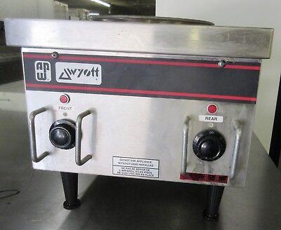 Apw Wyott Sehp Countertop 2-burner Electric Hot Plate