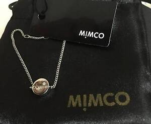 Frenzy Sale New Mimco Bracelet-Silver Big Bang Wrist-RRP $59.95 Greenvale Hume Area Preview