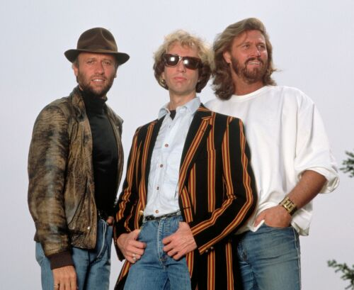 THE BEE GEES - MUSIC PHOTO #E-116