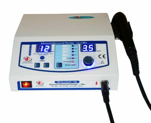 Branded Ultra sound Therapy 1mhz  For Stress Management machine Physical Therapy