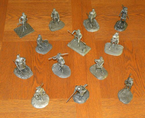 Franklin Mint: The Fighting Men Of The American Revolution, COMPLETE SET of 13