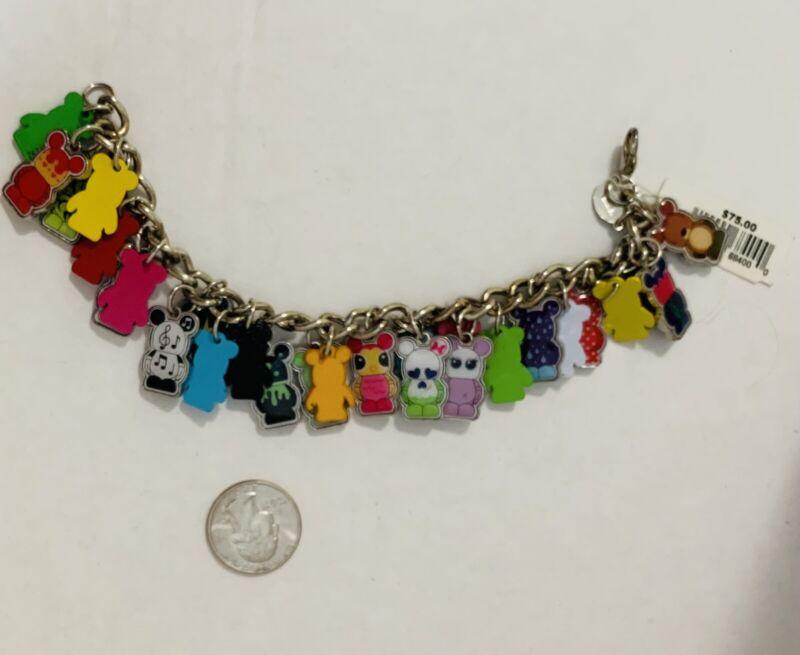 Disney Vinylmation Charm Bracelet Rare VHTF ~ New With Tags.