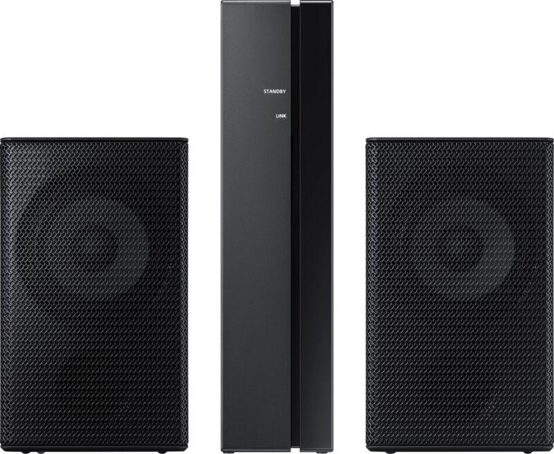 Samsung Wireless Rear Loudspeakers works with select Samsung soundbars (Pair) Black SWA-9000S/ZA